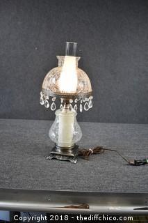 Working Vintage Parlor Lamp