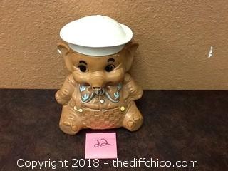 old elephant cookie jar