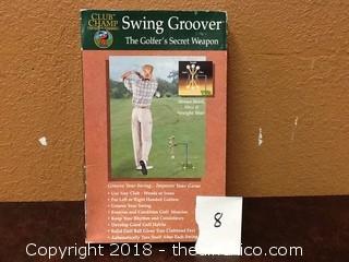 golfers swing groover