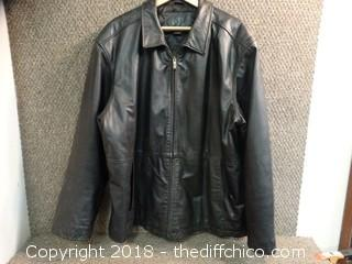 KB Leather Jacket Size XL