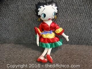 Betty Boop Doll
