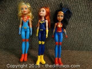 Plastic Barbie Heros