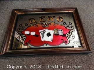 Reno Gambling Mirror