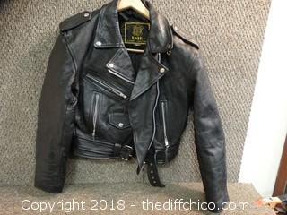 Unik Leather Jacket Unknown Size