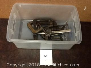 lot of C clamps