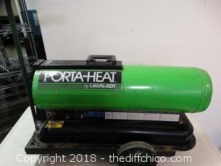Porta Heat Kerosene Heater Works