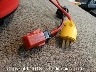 Snap On Drop Extension Cord