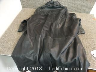 Bostonian Leather Jacket XL