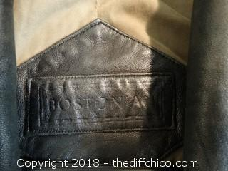 Bostonian Leather Jacket XL