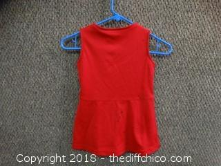 49 Cheerleader Outfit Size 4T