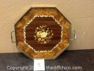Italian made serving plater