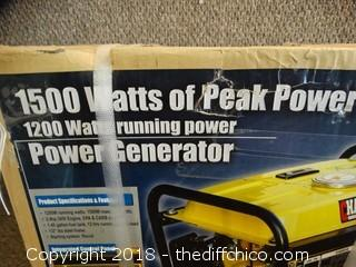 Champion Power Generator 1200 Watts NIB!!