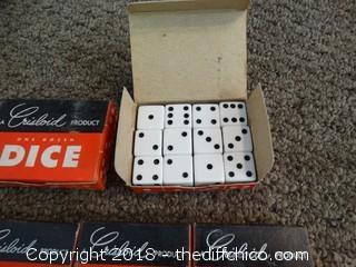 6 Boxes Of Dice NIB