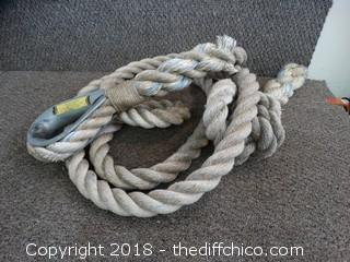 "Heavy Duty Tow Rope 2"" Thick"
