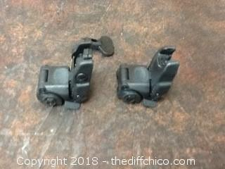 NIB magpul MBUS flip up sights