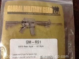 new global military gear AR A2 rear sights