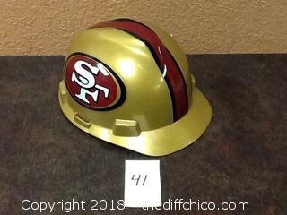 MSA 49ERS hard hat
