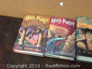5 harry potter books