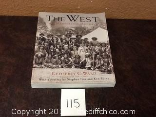 The West illustrated history book