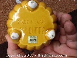 made in japan for gumps flower pot