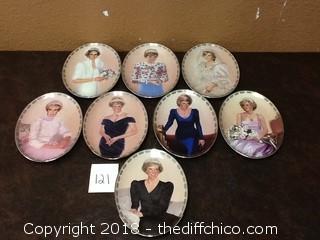princess Diana collector plate set