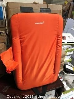 "Driftsun 20"" Orange Stadium Chair (J34)"