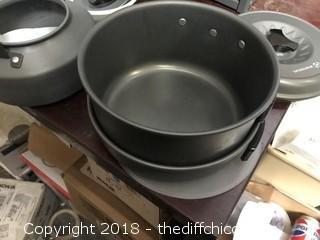 Winterial 10 Piece Camping Cookware Set (J43)