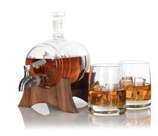 Atterstrone Barrel Whiskey Decanter Set (J50)