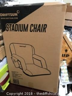 "Driftsun Black 20"" Stadium Chair (J61)"