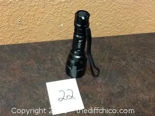 new Cree LED flashlight