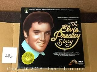 the story of elvis limited edition records