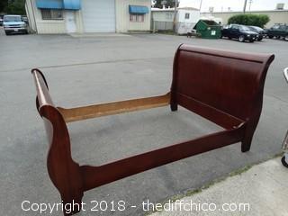 Sleigh Bed Frame 57x70