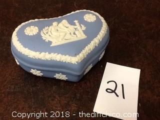 ceramic heat decorative box