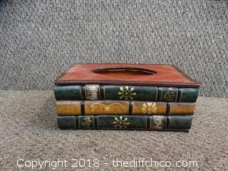 Book Tissue Box