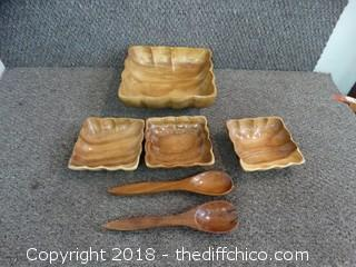Wood Serving Dishes