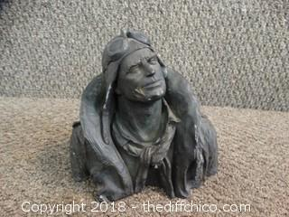 Plaster Statue See Pics