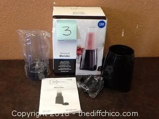 new open box personal blender