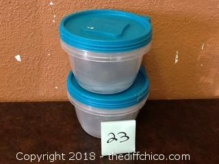 open box tupperware sets