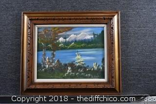 Framed Signed Original Oil