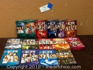 seasons 1 - 15 of ER