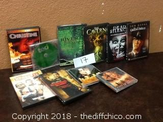 DVD and CD lot