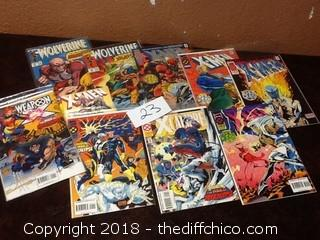 xmen and wolverine comics