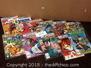 wolverine series comics