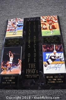 Limited Edition the Players of the Decade 1980's