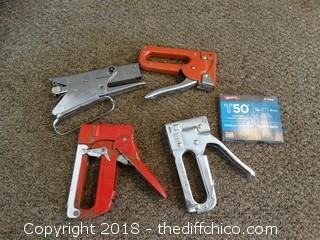 Staple Guns and Staples