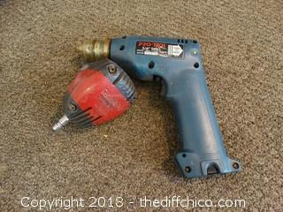 "Pro-Tech 3/8"" Drill and a Dan air"
