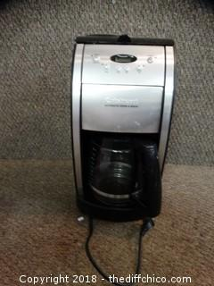 Cuisinart Automatic Grind and Brew Works