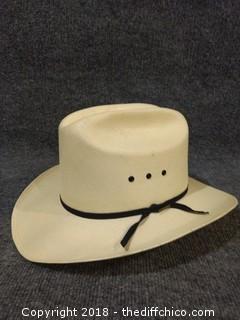 Resistol Cowboy Hat - Size 7.25