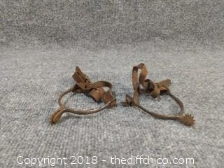 19th Century (1801-1900) English Riding Spurs