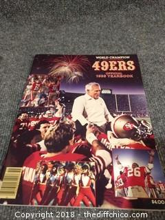 1985 World Champion 49er Yearbook - Signed by Wendell Tyler